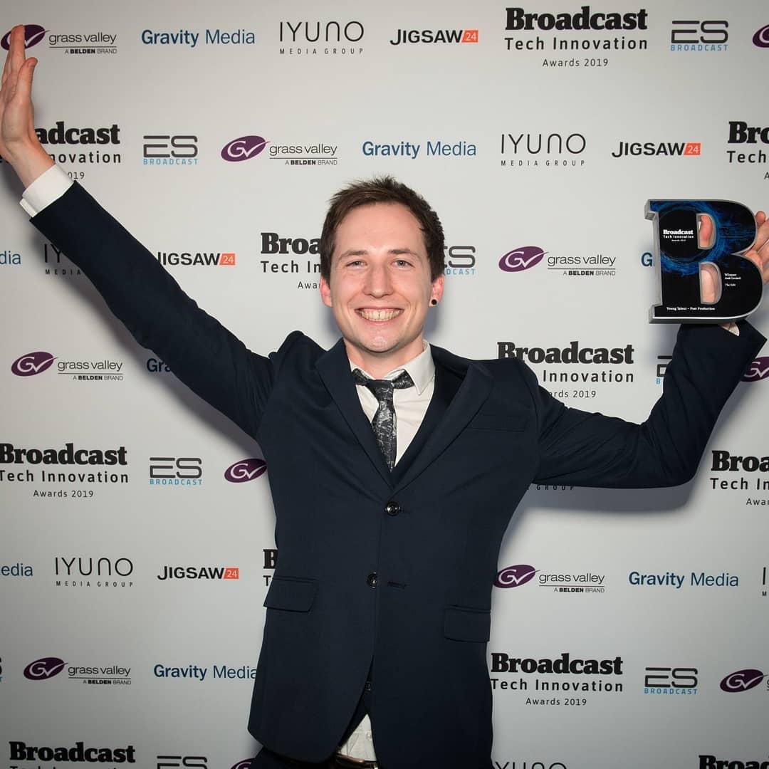 Josh Cordell Wins Broadcast Tech Innovation Award