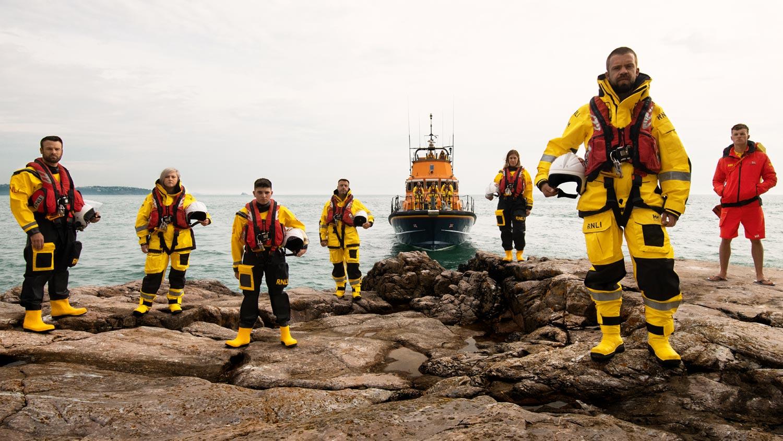 The Sixth Series of Saving Live at Sea Hits TVs next week!